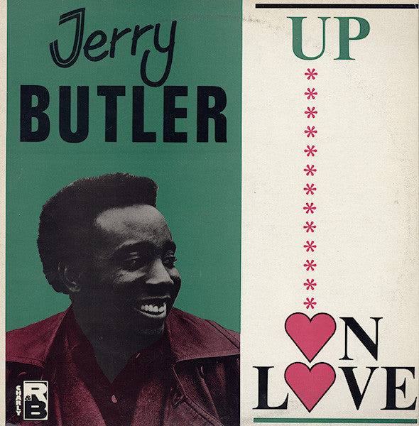 Jerry Butler - Up On Love (LP, Comp) - USED
