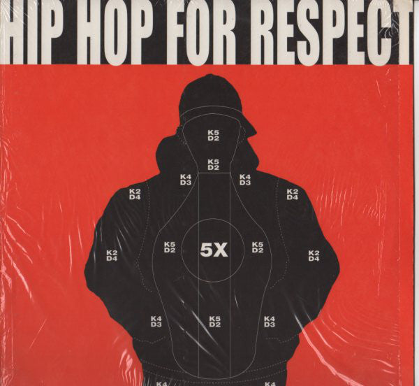 "Hip Hop For Respect - Hip Hop For Respect (12"", EP) - NEW"