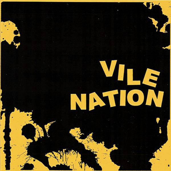 "Vile Nation - No Exit (7"", EP, RP, Whi) - USED"