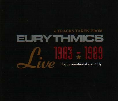 Eurythmics - 6 Tracks Taken From Eurythmics Live 1983-1989 (CD, Smplr, Promo) - USED