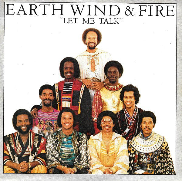 "Earth, Wind & Fire - Let Me Talk (7"", Single) - USED"