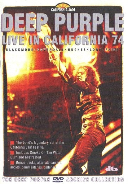 Deep Purple - Live At The California Jam 1974 (DVD-V, PAL, Multichannel) - USED