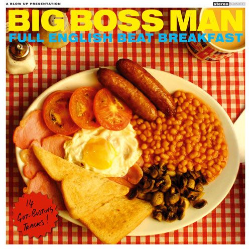 Big Boss Man - Full English Beat Breakfast (CD, Album) - USED