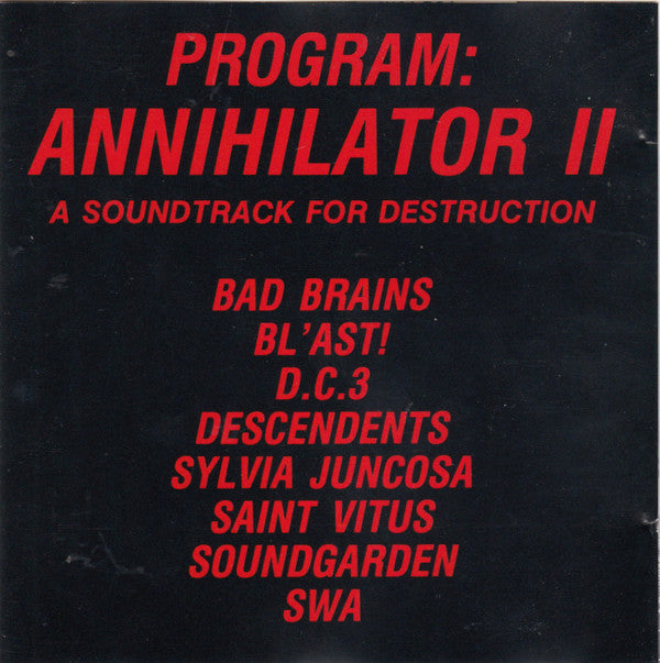 Various - Program: Annihilator II (CD, Comp) - USED