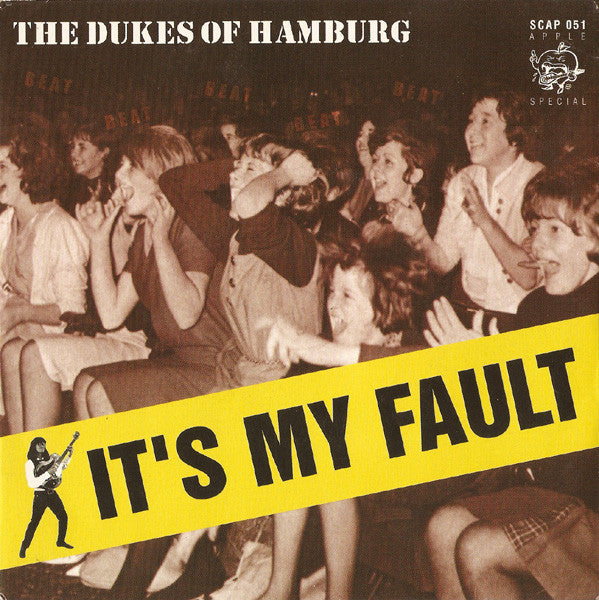 "The Dukes Of Hamburg - It's My Fault (7"", Single) - USED"