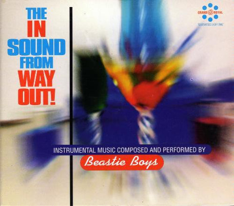 Beastie Boys - The In Sound From Way Out! (CD, Comp, UK) - NEW