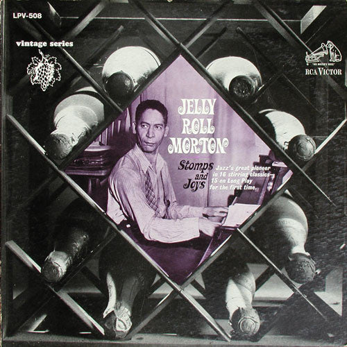 Jelly Roll Morton - Stomps And Joys (LP, Comp, Mono) - USED