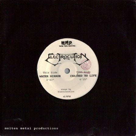 "Electrocution - Water Mirror/Chained To Life (7"", EP) - USED"