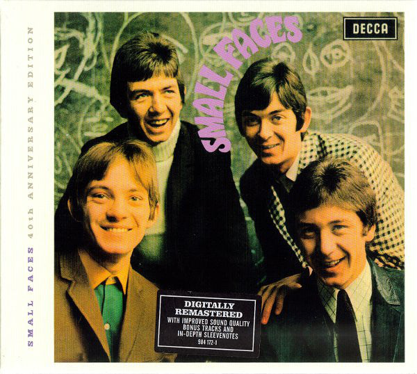 Small Faces - Small Faces (CD, Album, RE, RM, 40t) - USED