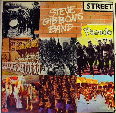 Steve Gibbons Band - Street Parade (LP, Album, Ric) - USED