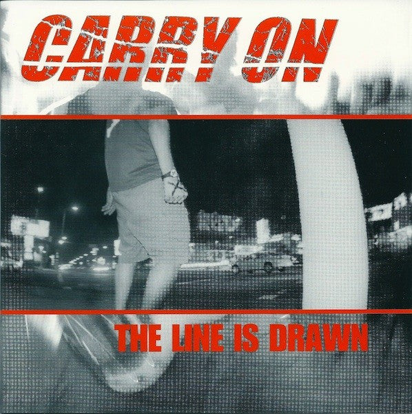 "Carry On (2) - The Line Is Drawn (7"", Gol) - USED"