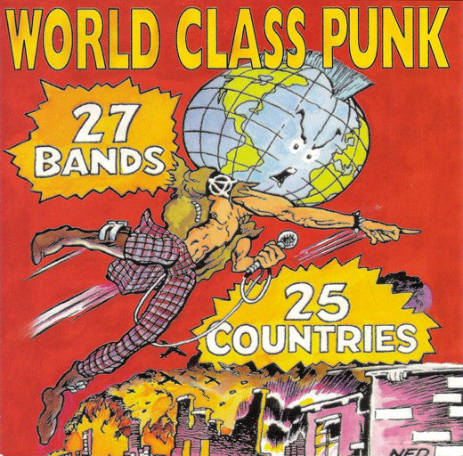 Various - World Class Punk (CD, Comp, RE) - USED