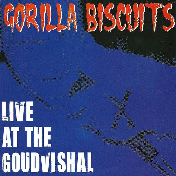 "Gorilla Biscuits - Live At The Goudvishal (7"", Unofficial, W/Lbl) - USED"