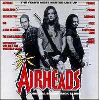 Various - Airheads - Original Soundtrack Album (CD, Album, Comp) - USED