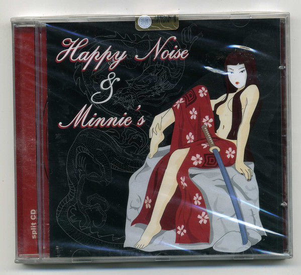 Happy Noise (2) & Minnie's - Split CD (CD) - USED