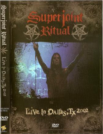 Superjoint Ritual - Live In Dallas, Tx 2002 (DVD-V, PAL) - USED