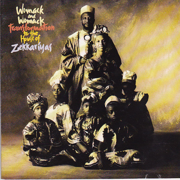 Womack And Womack* - Transformation To The House Of Zekkariyas (CD, Album) - USED