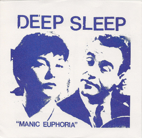 "Deep Sleep (3) - Manic Euphoria (7"", EP, Ltd, Blu) - USED"