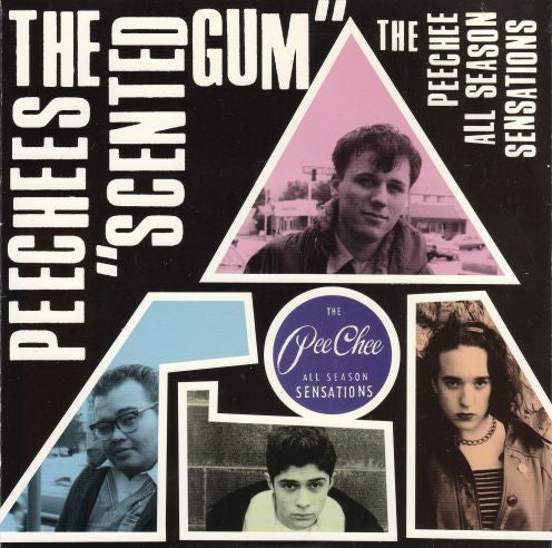 "The Peechees - Scented Gum (7"") - USED"