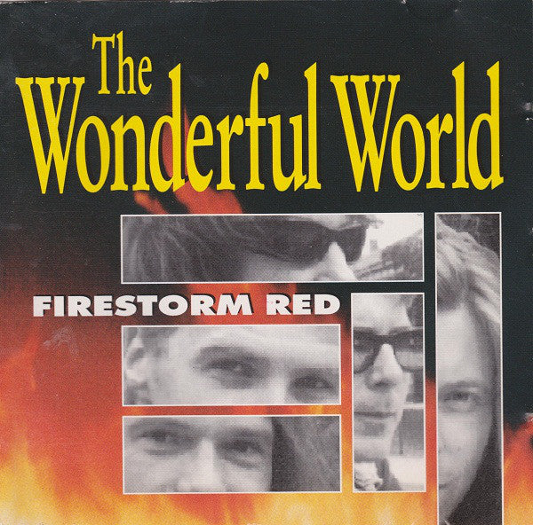The Wonderful World - Firestorm Red (CD, Album) - USED