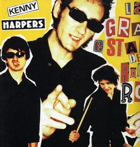 "Kenny Harpers - La Gran Estafa Del Rock 'n' Roll (10"") - USED"