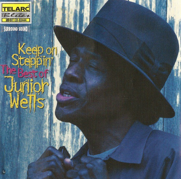 Junior Wells - Keep On Steppin': The Best Of Junior Wells (CD, Comp, Sur) - USED