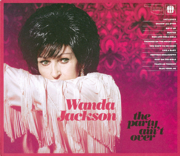Wanda Jackson - The Party Ain't Over (CD, Album) - USED