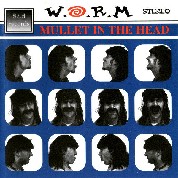 W.O.R.M. (2) - Mullet In The Head (CD, Album) - USED