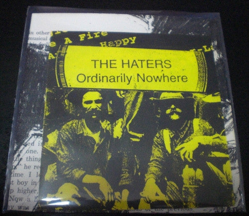 The Haters - Ordinarily Nowhere (CD, RE) - USED