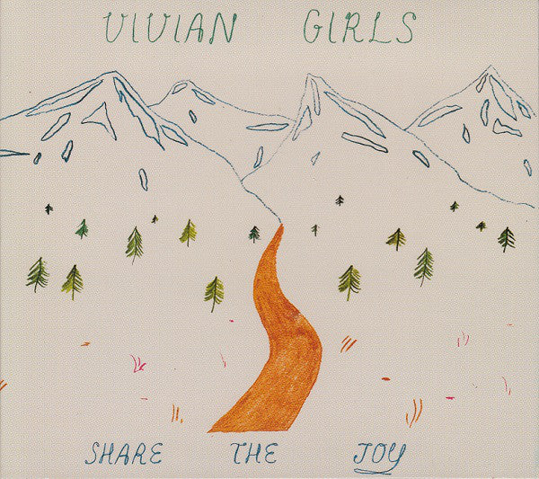 Vivian Girls - Share The Joy (CD, Album, Dig) - NEW