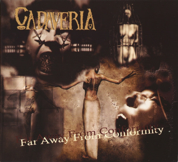 Cadaveria - Far Away From Conformity (CD, Album, Dig) - USED