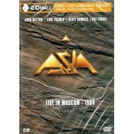 Asia (2) - Live In Moscow 1990 (CD + DVD-V, Multichannel, PAL) - USED