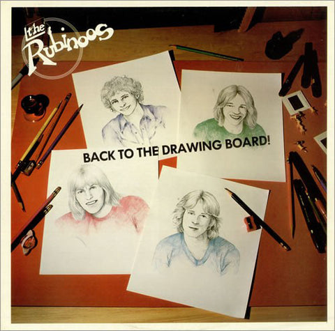 The Rubinoos - Back To The Drawing Board (LP, Album) - USED