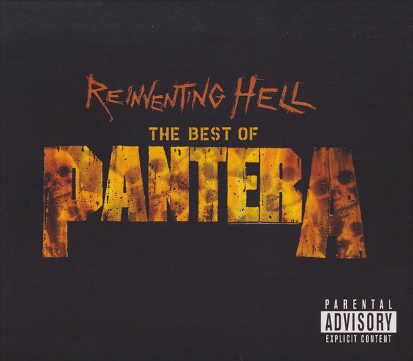 Pantera - Reinventing Hell - The Best Of Pantera (CD, Comp, RM + DVD-V + Sli) - USED