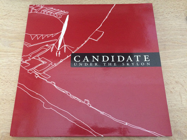 Candidate - Under The Skylon (LP, Ltd, Whi) - USED