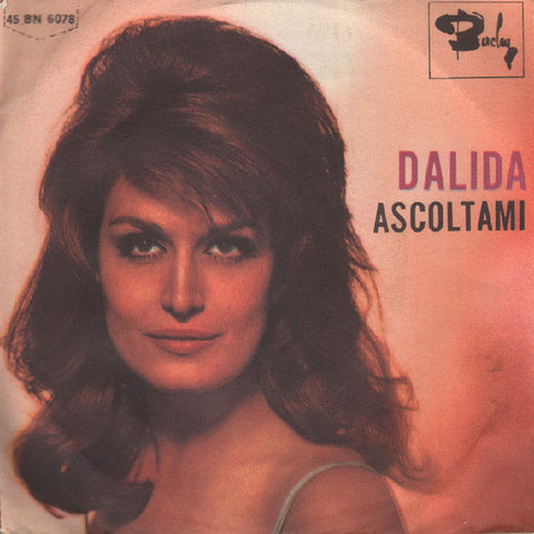 "Dalida - Ascoltami (7"", Single) - USED"