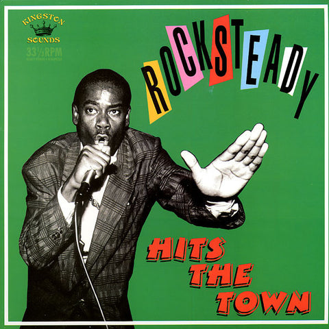 Various - Rocksteady Hits The Town (LP, Comp) - USED