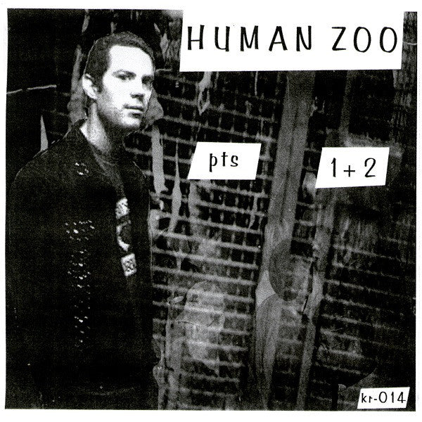 "M.C. Monkey & Ape With Attitude - Human Zoo Pts 1+2 (7"", Single) - USED"