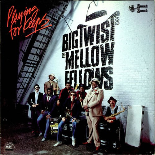 Big Twist And The Mellow Fellows - Playing For Keeps (LP, Album) - USED