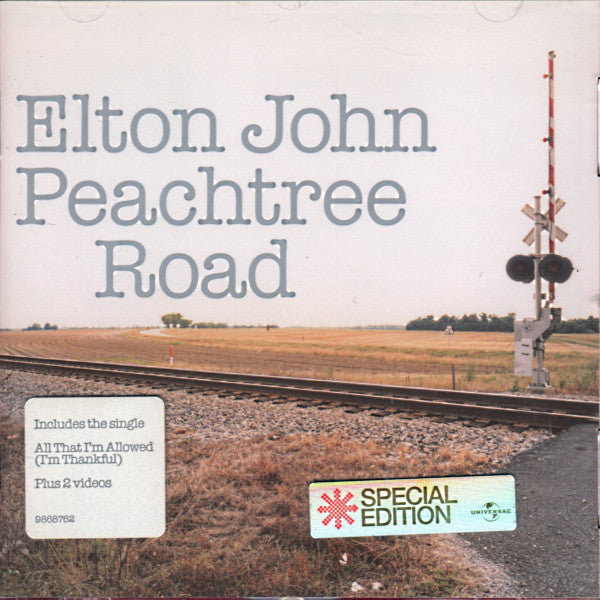 Elton John - Peachtree Road (CD, Album, Enh, S/Edition) - USED