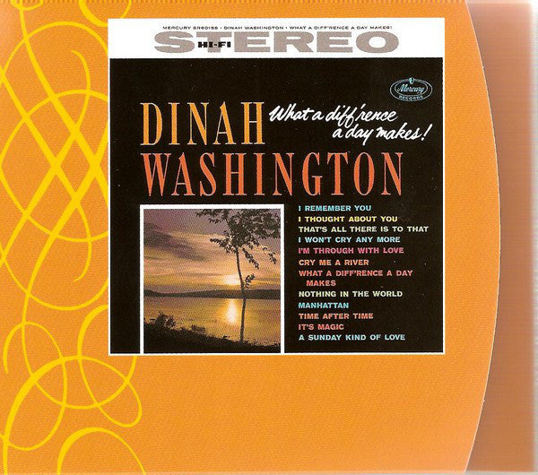 Dinah Washington - What A Diff'rence A Day Makes! (CD, Album, RE, Dig) - USED