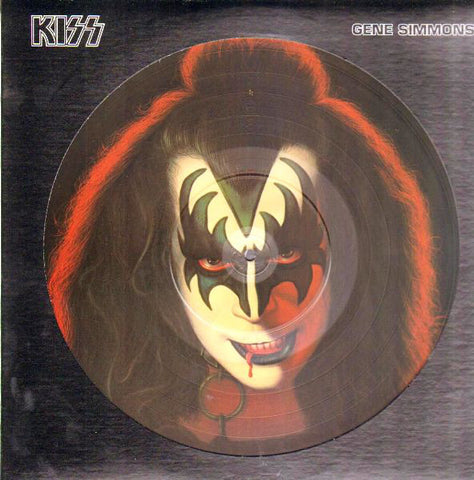 Kiss - Gene Simmons (LP, Pic, 180) - NEW