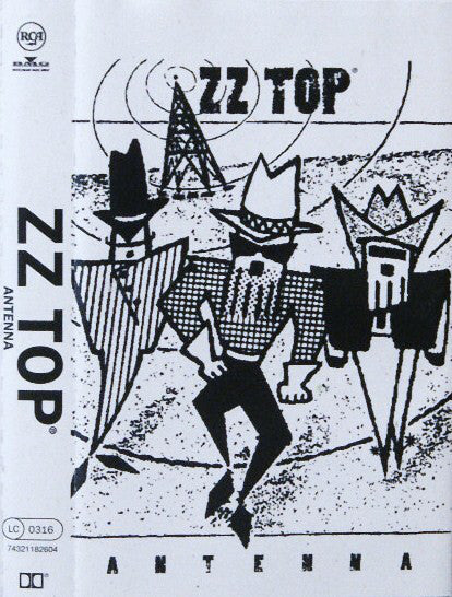 ZZ Top - Antenna (Cass, Album) - USED