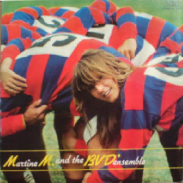 Martine M.* And The B.V.D'Ensemble - Martine M. And The B.V.D'Ensemble (LP, Promo, Gat) - USED
