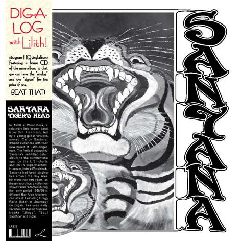Santana - Tiger's Head (2xLP, Comp + CD, Album, Comp) - USED