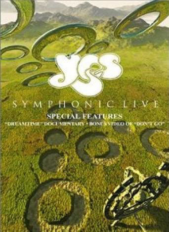 Yes - Symphonic Live (2xDVD-V, Multichannel, PAL) - USED