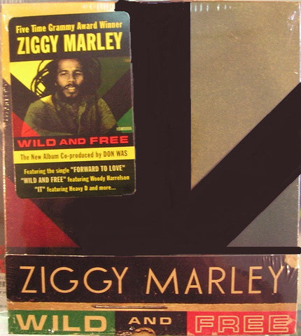 Ziggy Marley - Wild And Free (CD, Album) - USED