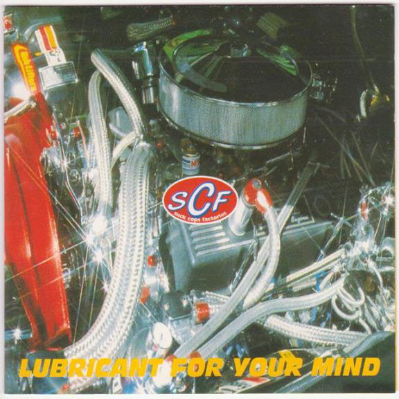 Various - Lubricant For Your Mind (CD, Comp) - USED