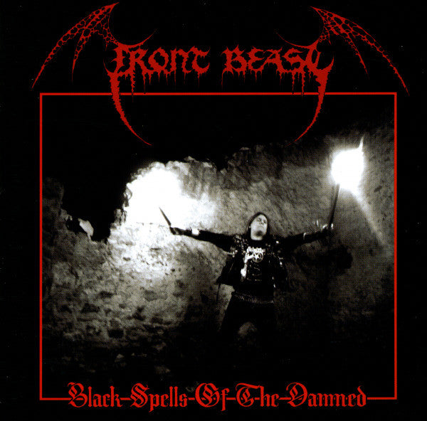 Front Beast - Black Spells Of The Damned (CD, Album) - USED