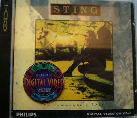 Sting - Ten Summoner's Tales (CDi, Dig) - USED